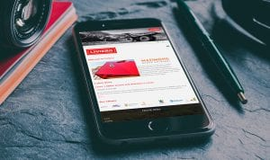 Liviero mobile view | Thinking Creative