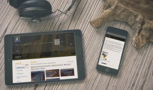 Stefanutti Stocks mobile and tablet view | Thinking Creative