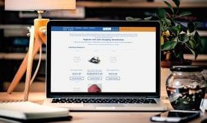 Weir desktop view | Thinking Creative