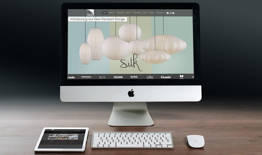 Spazio desktop and tablet | Thinking Creative